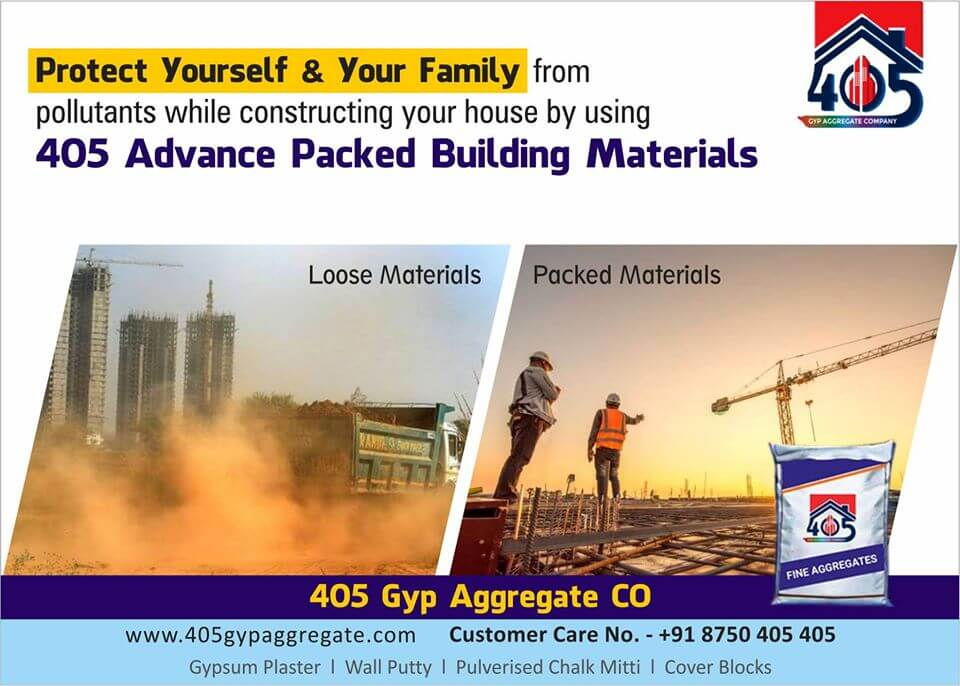 405 PACKED BUILDING MATERIAL